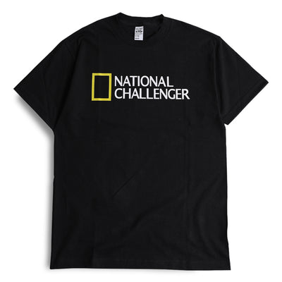 Challenger National Tee | Black - CROSSOVER