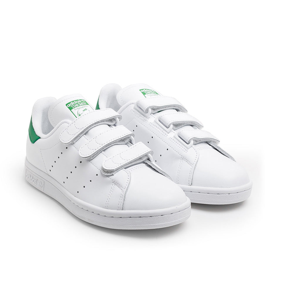 adidas Originals Stan Smith CF | White/Green - CROSSOVER ONLINE