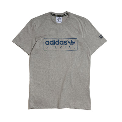 McLoughlin SPZL Tee | Medium Grey
