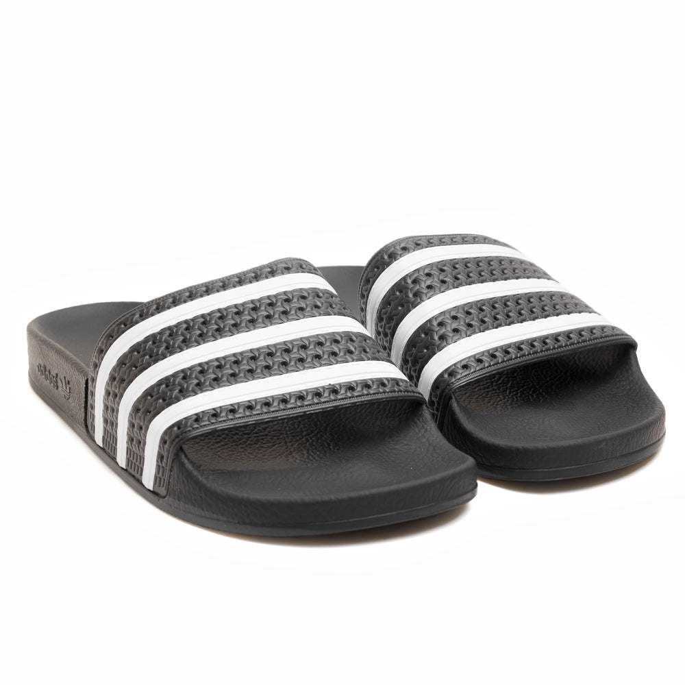 adidas Originals Adilette Slides | Black - CROSSOVER ONLINE