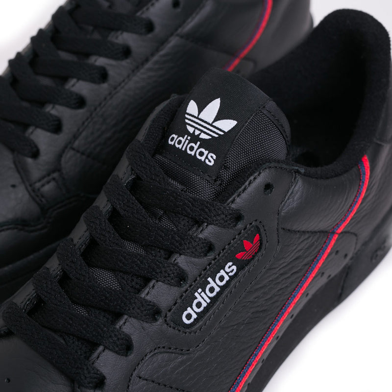 adidas Originals Continental 80 | Core Black - CROSSOVER ONLINE