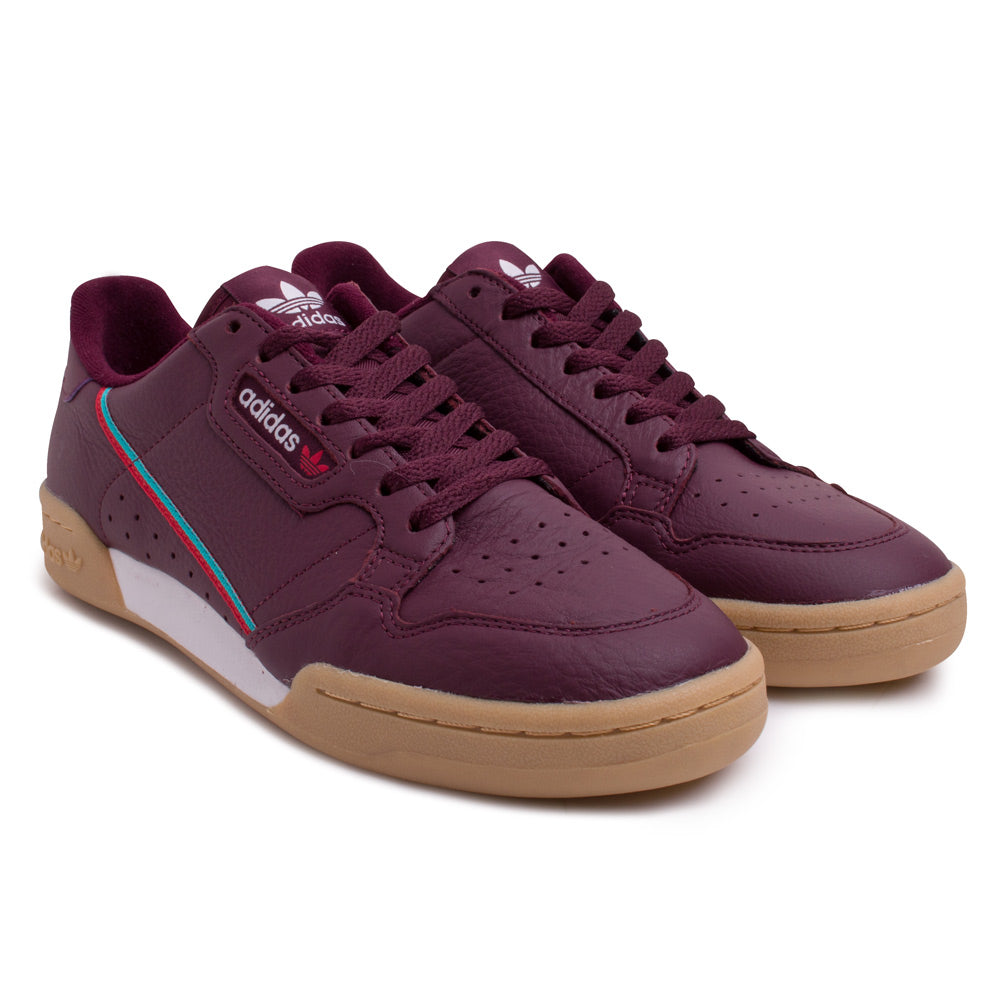 adidas Originals Continental 80 | Maroon - CROSSOVER