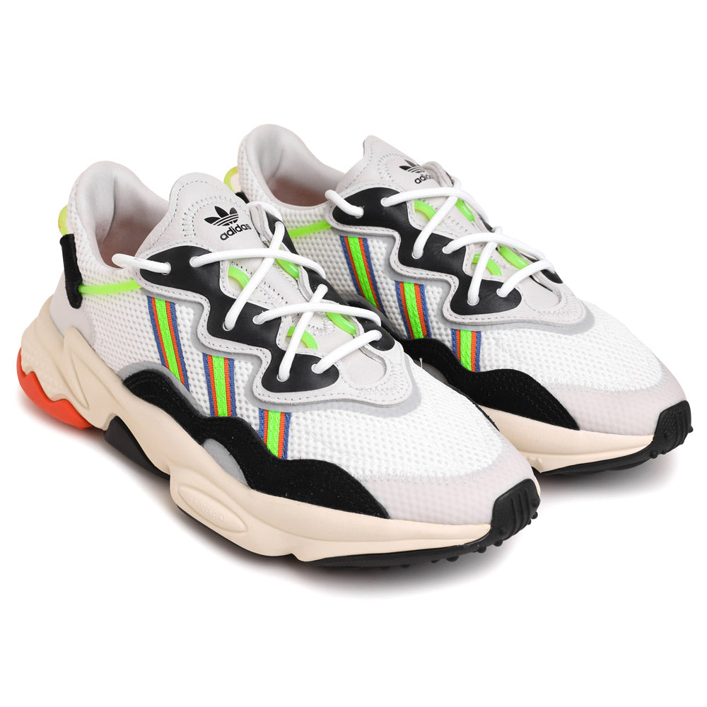 adidas Originals Ozweego | White Solar Green - CROSSOVER