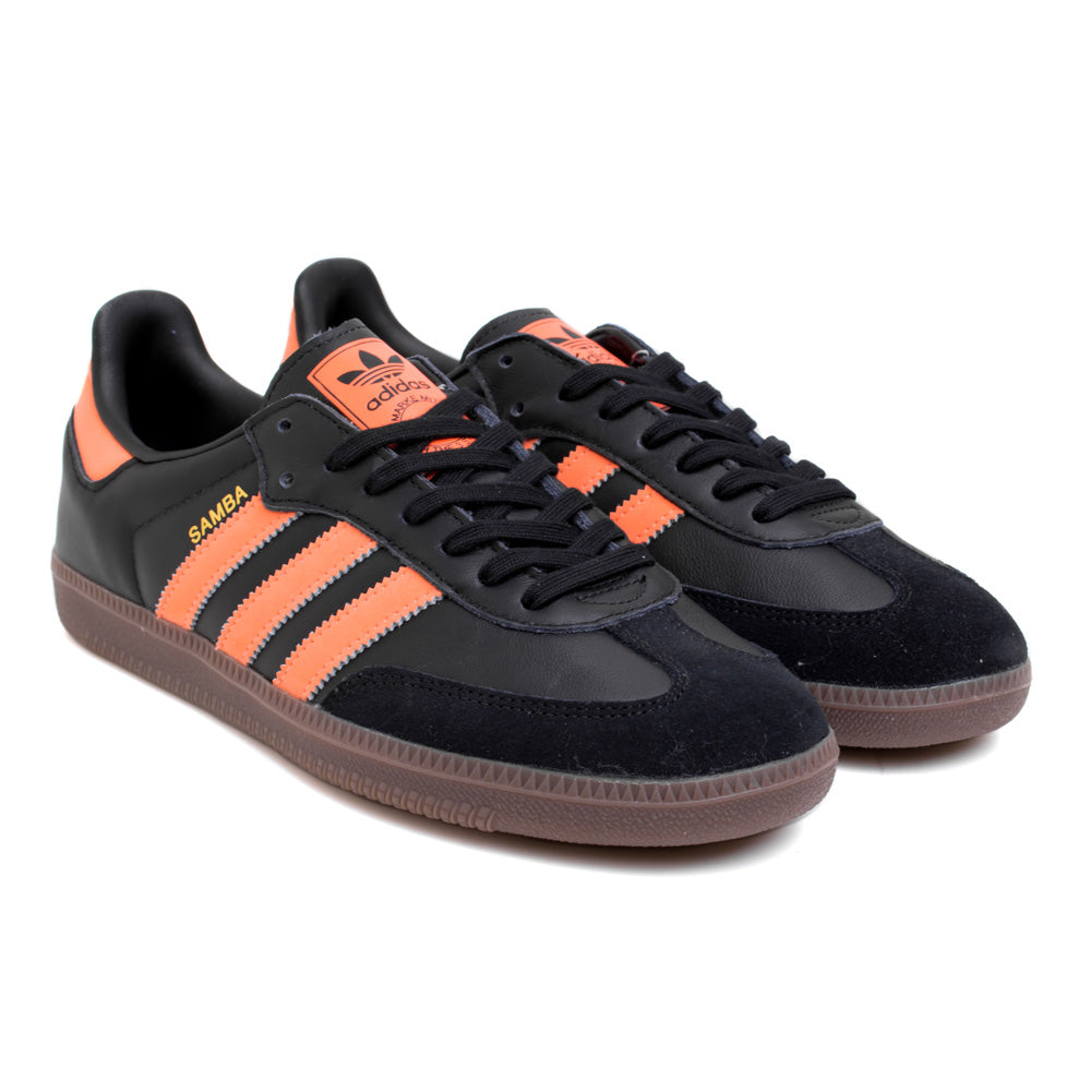 adidas Originals Samba OG | Black Orange - CROSSOVER