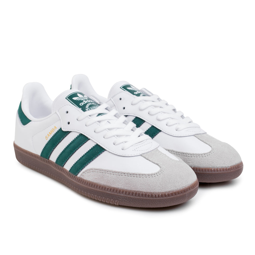adidas Originals Samba OG | White Green - CROSSOVER