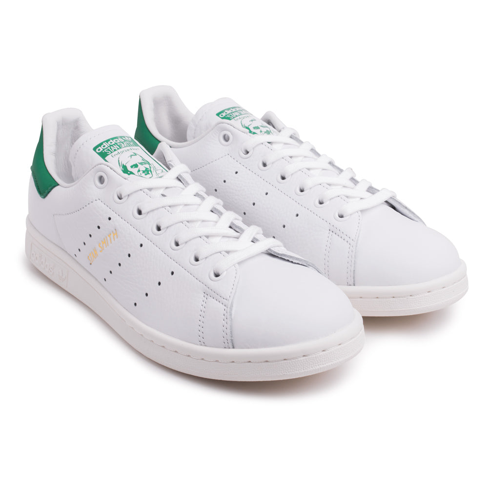 adidas Originals Stan Smith Shoes | White Green - CROSSOVER