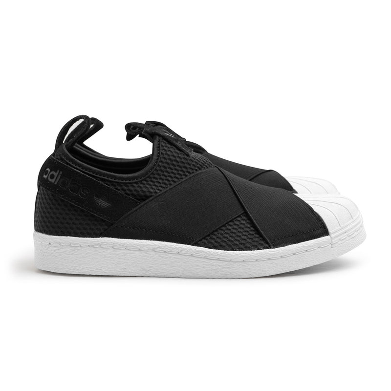 W's Superstar Slip On | Black White