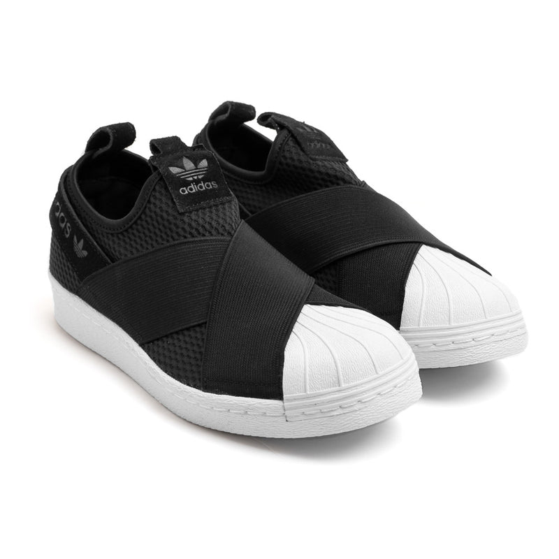 adidas Originals Women's Superstar Slip-on  | Black - CROSSOVER ONLINE
