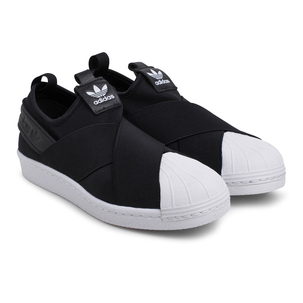 outlet store 975c4 e7a97 adidas Originals Superstar Slip On   Black - CROSSOVER