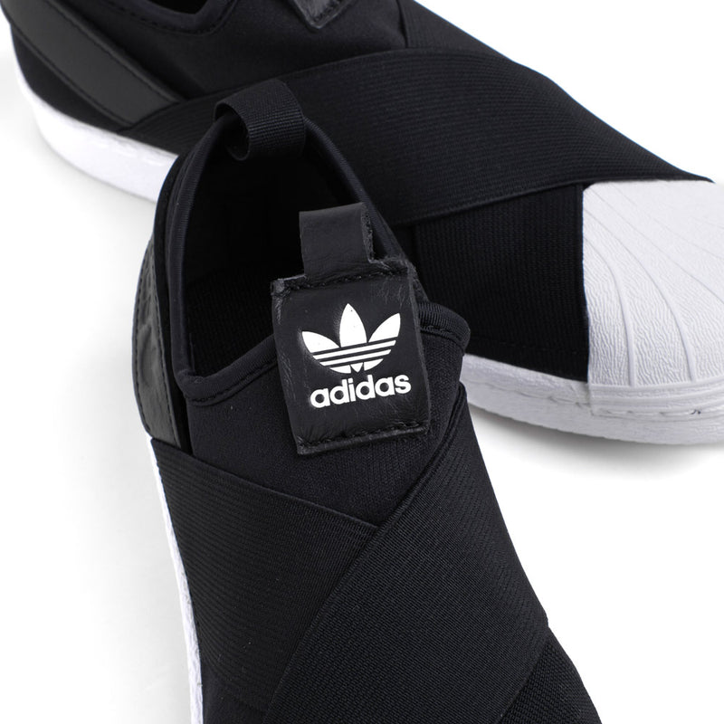 adidas Originals Superstar Slip On | Black - CROSSOVER