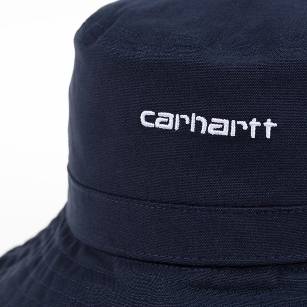 Carhartt WIP Script Bucket Hat | Dark Navy - CROSSOVER