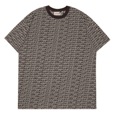 Carhartt WIP Typo Tee | Tobacco - CROSSOVER