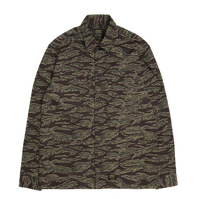 L/S Mission Shirt | Tiger Camo