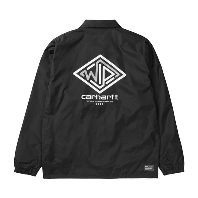 Maze Coach Jacket | Black