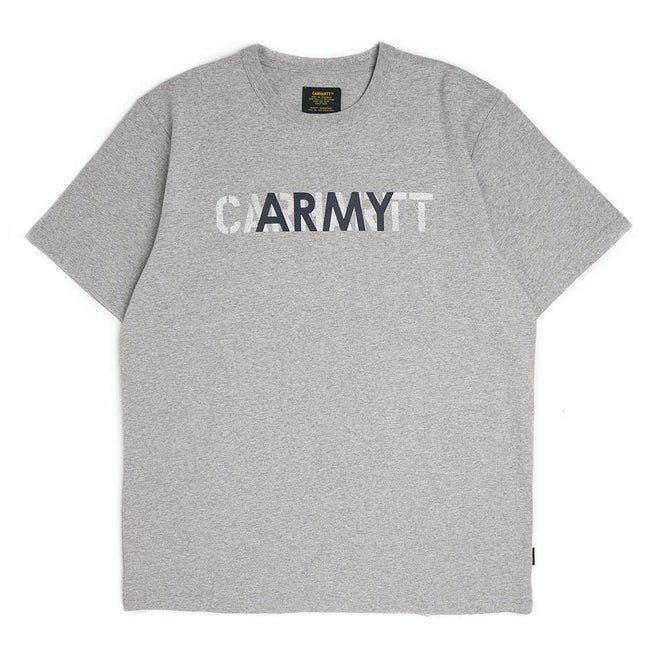 S/S CA Training Tee | Grey
