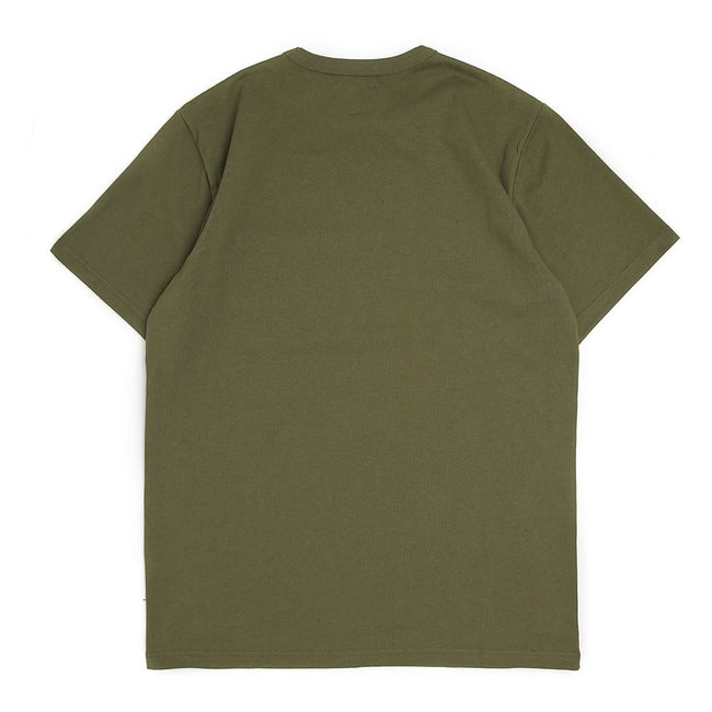 S/S Emblem Pocket Tee | Army Green