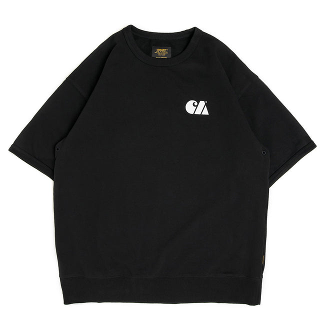 S/S Military Training Sweatshirt | Black