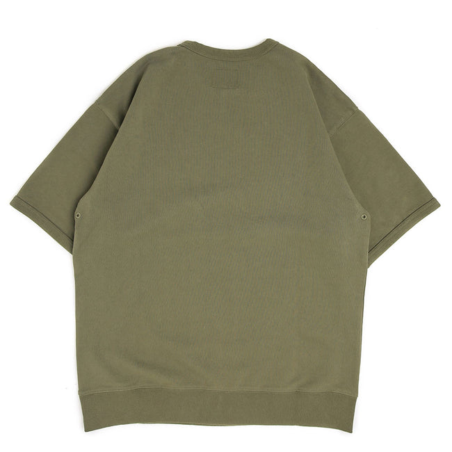 S/S Military Training Sweatshirt | Army Green