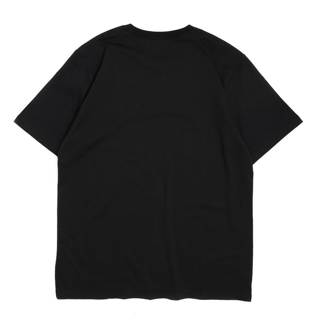 S/S Work Is Over Tee | Black