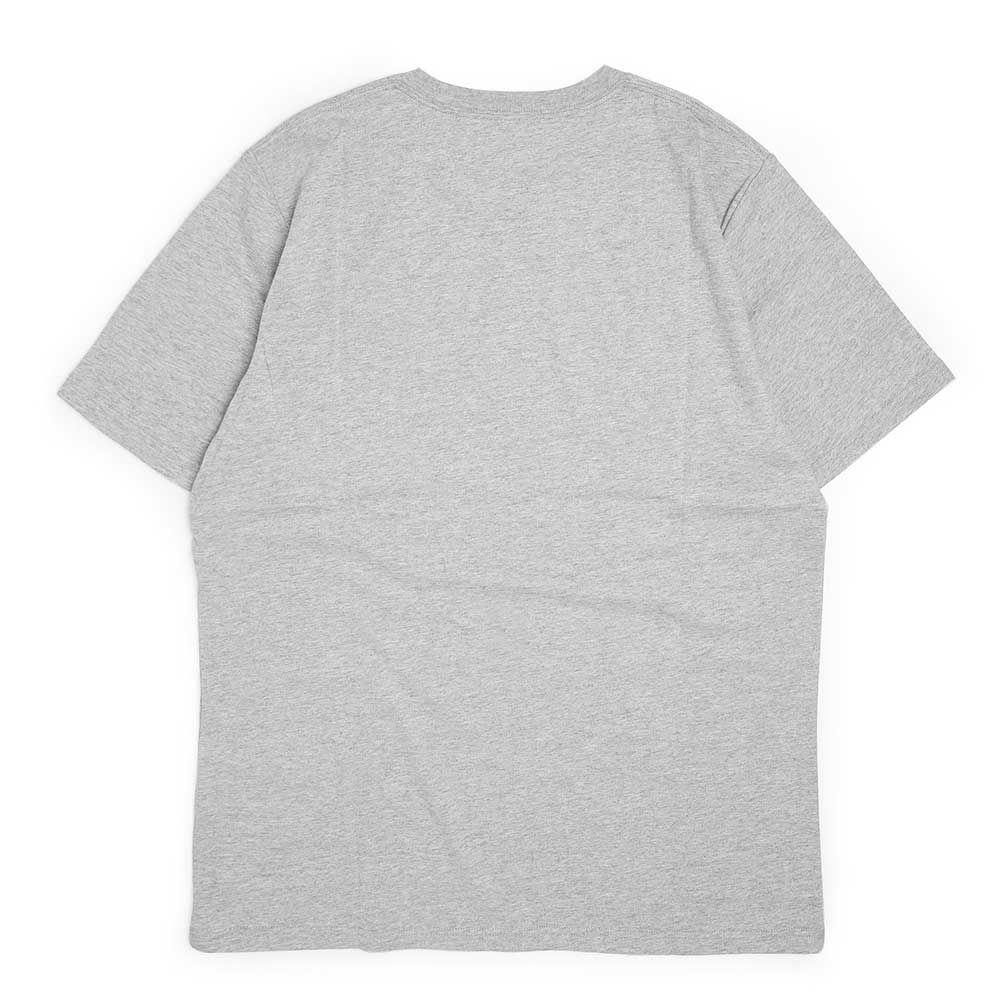 S/S Work Is Over Tee | Grey