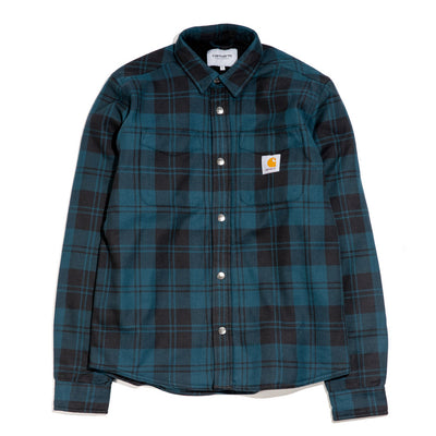 Pulford Shirt Jac | Duck Blue