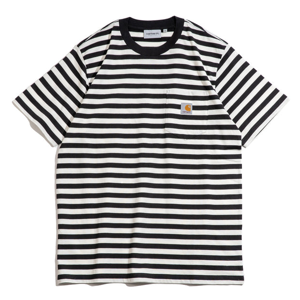 Scotty Pocket Tee | Black Wax