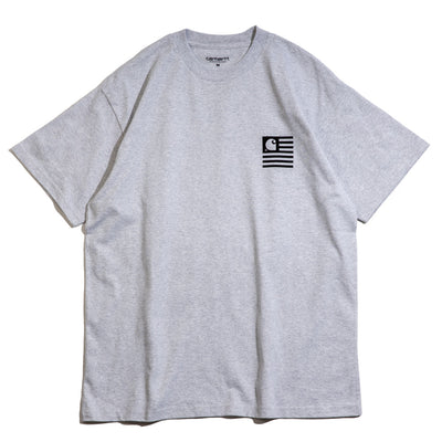 State Chromo Tee | Ash Heather