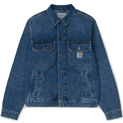 Stetson Jacket | Blue Mid Worn Wash