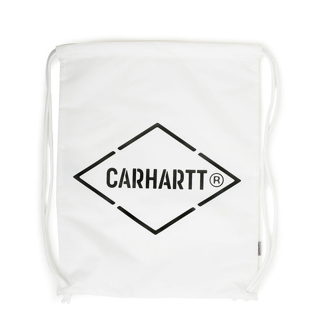 Diamond Script Bag | White