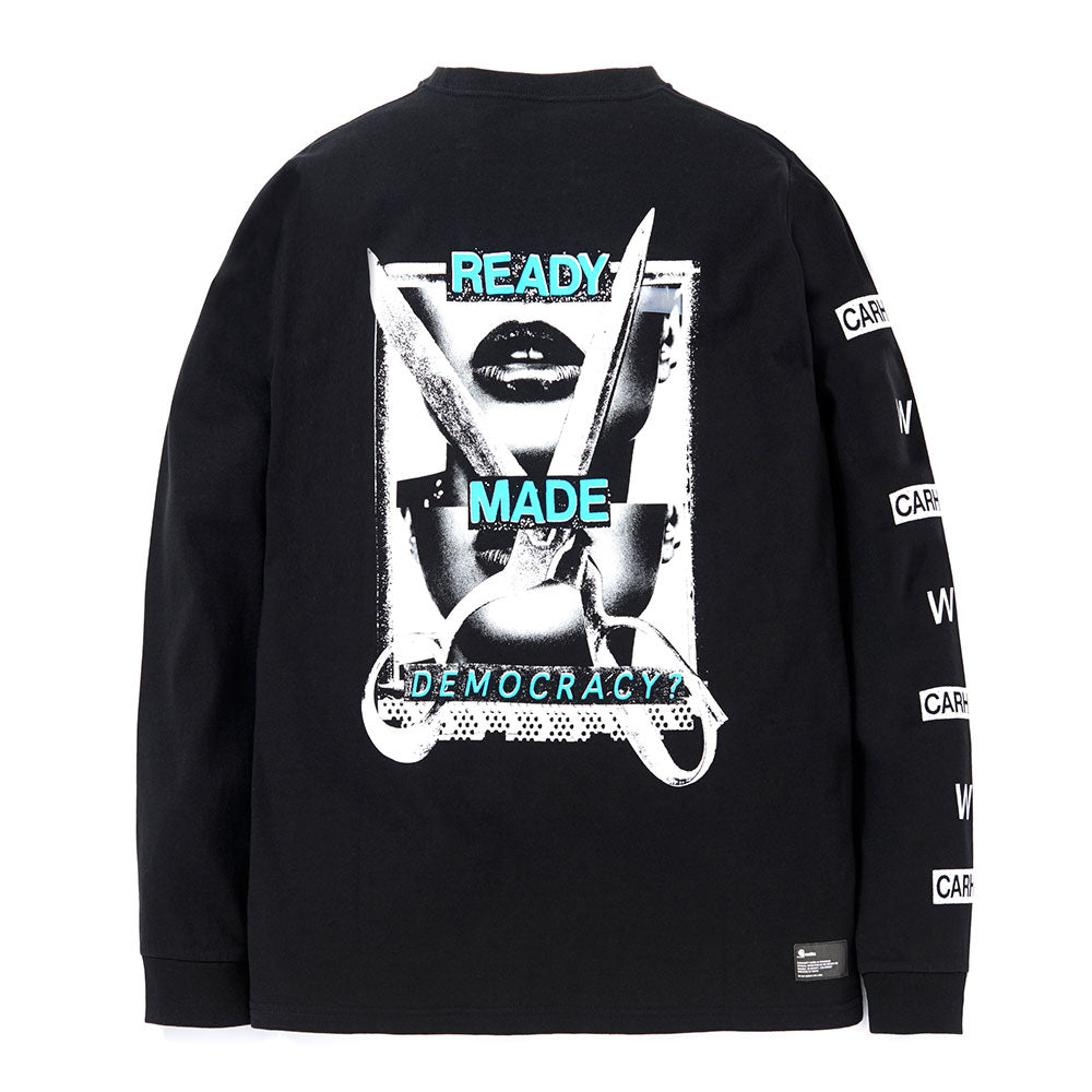 L/S Democracy Tee | Black