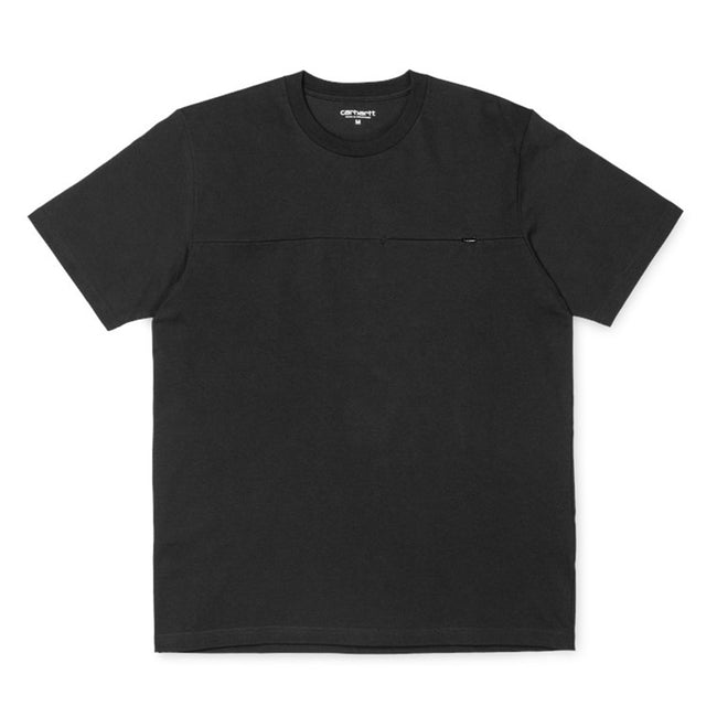 S/S Reflective Pocket Tee | Black