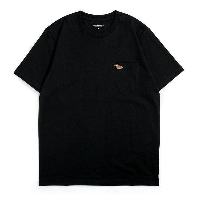 S/S Duck Pocket Tee | Black