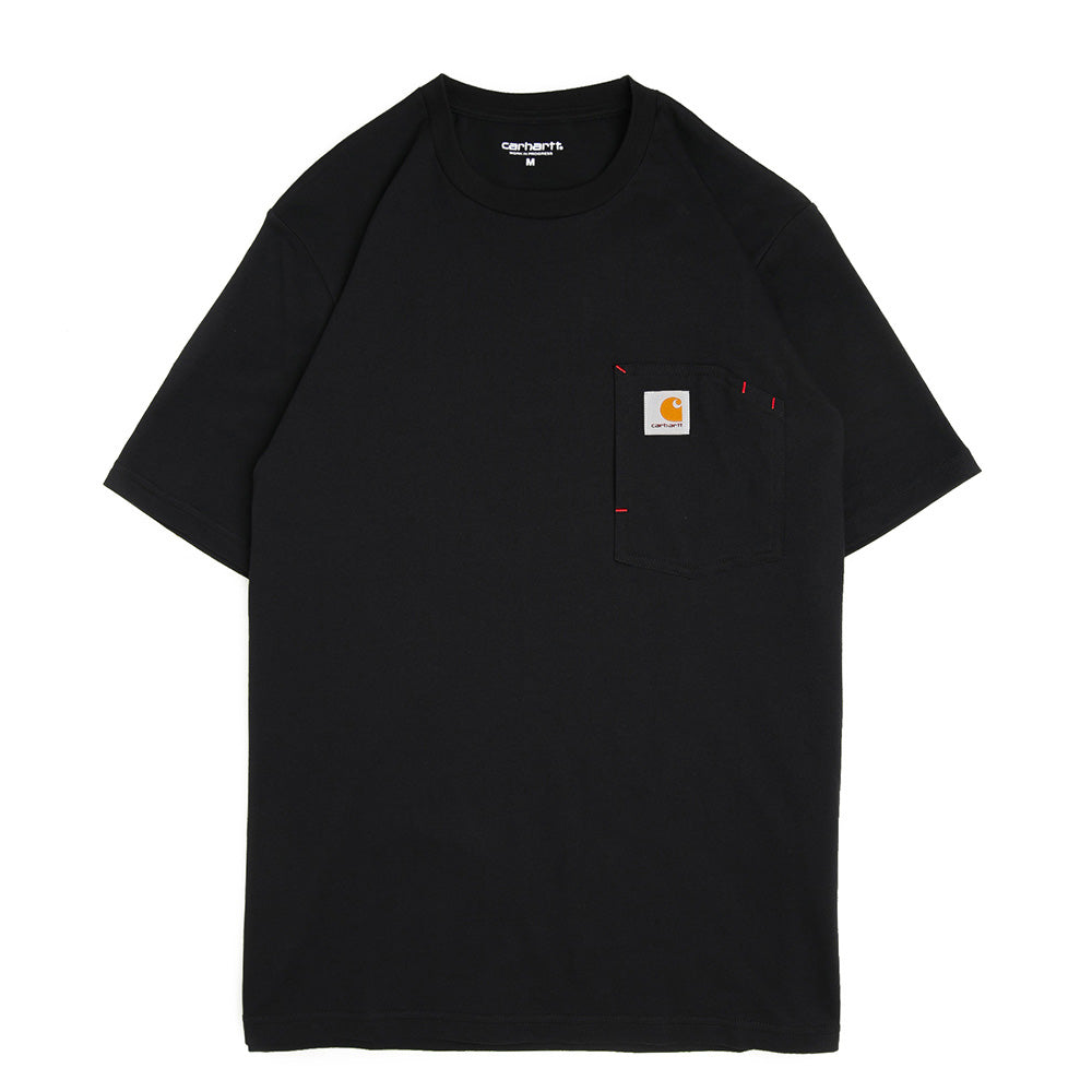 S/S State Pocket Tee | Black