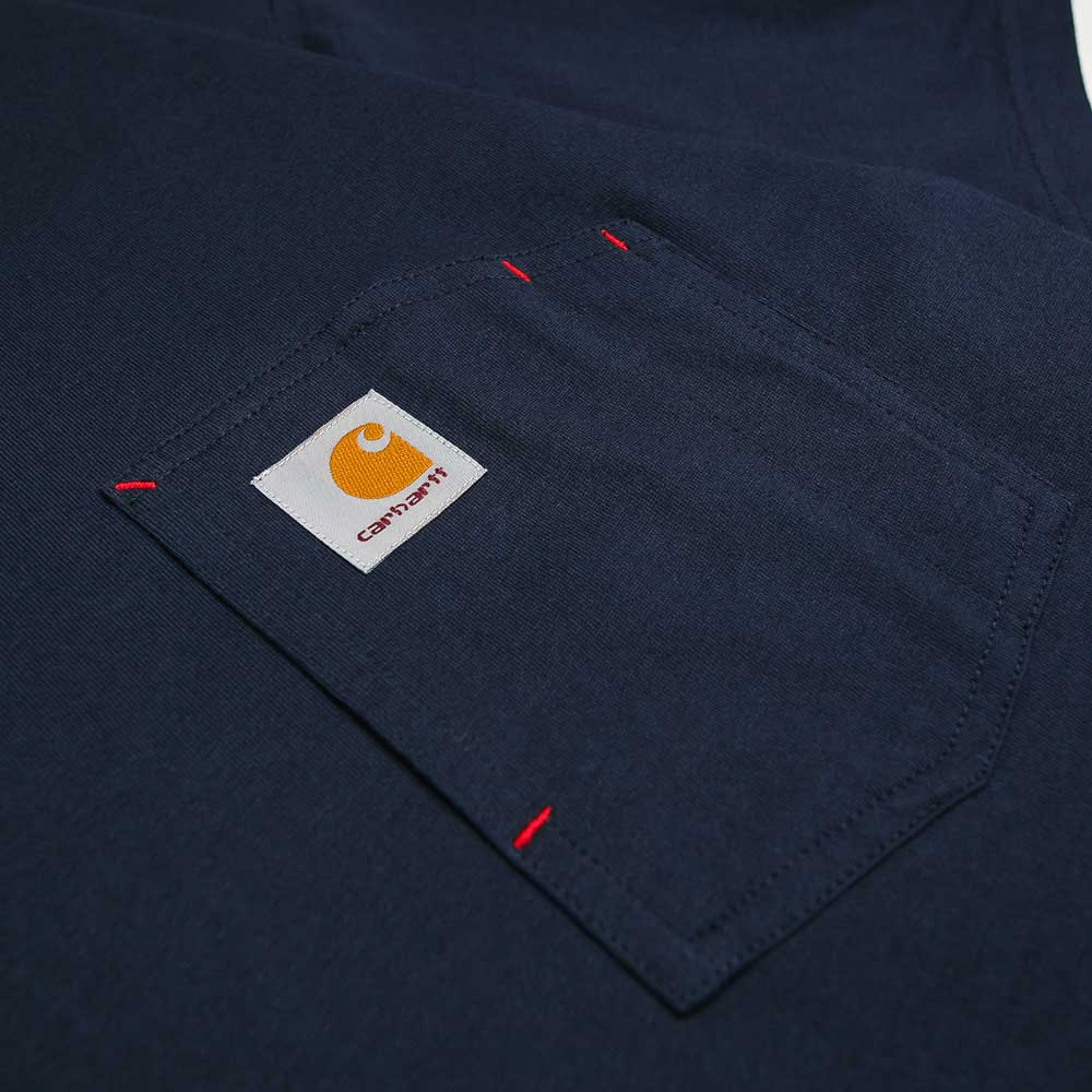 S/S State Pocket Tee | Navy