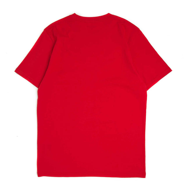 S/S WIP Script T-Shirt | Red/White