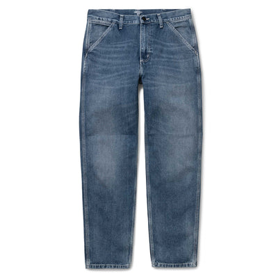 Penrod Pant | Blue Mid Worn Wash