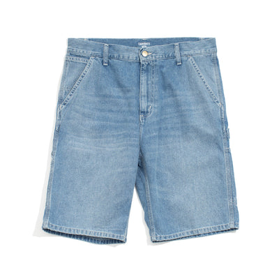 Ruck Single Knee Short | Blue Worn Bleached