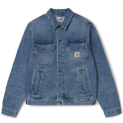 Stetson Jacket | Blue Worn Bleached