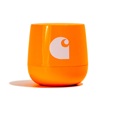 Lexon x Carhartt WIP Mino Speaker | Neon Orange