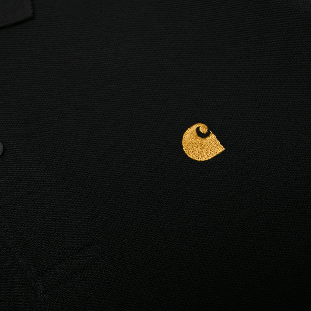 S/S Chase Polo | Black