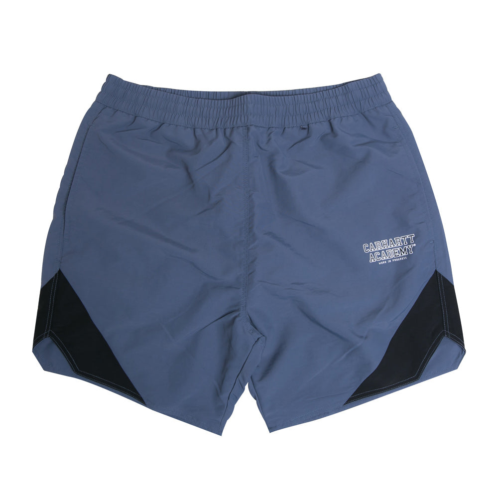 Carhartt WIP Academy Short | Stone Blue - CROSSOVER ONLINE