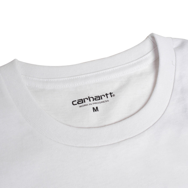 Carhartt WIP American Script Tee | White - CROSSOVER