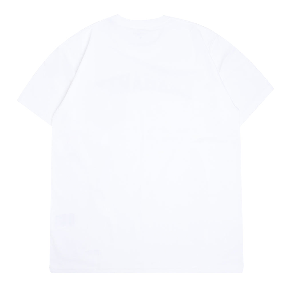 Carhartt WIP Arch Logo Pocket Tee | White - CROSSOVER
