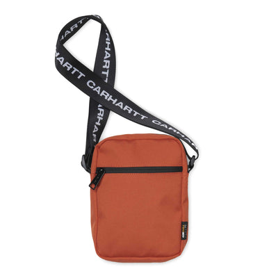 Brandon Shoulder Pouch | Brick Orange