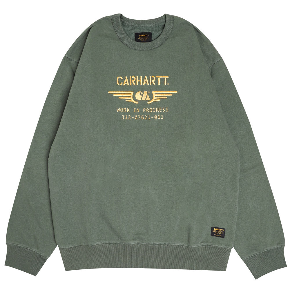 Carhartt WIP CA Wings Sweatshirt | Adventure Gold - CROSSOVER