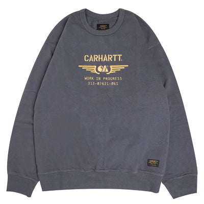 Carhartt WIP CA Wings Sweatshirt | Blacksmith Gold - CROSSOVER