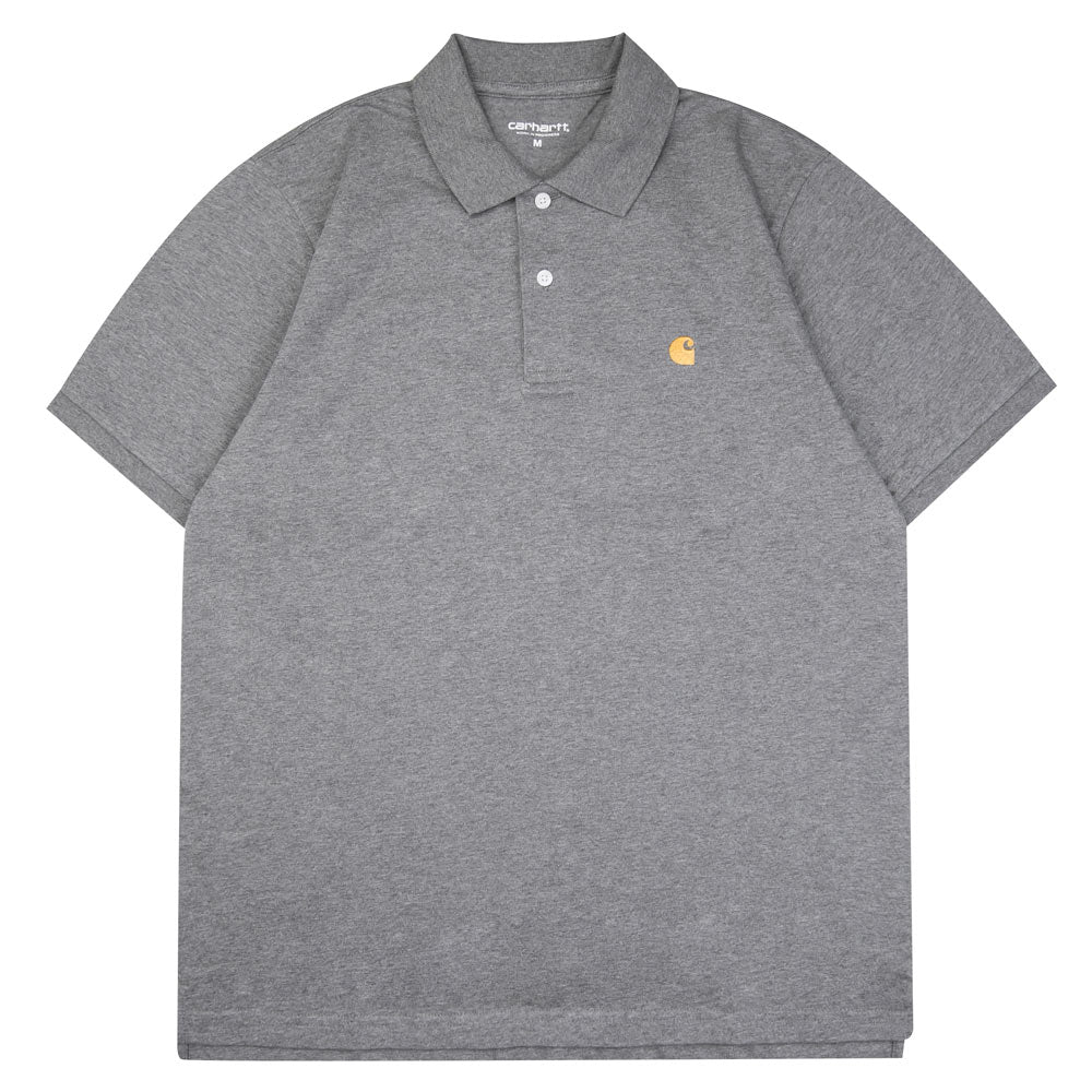 Chase Polo Tee | Dark Grey