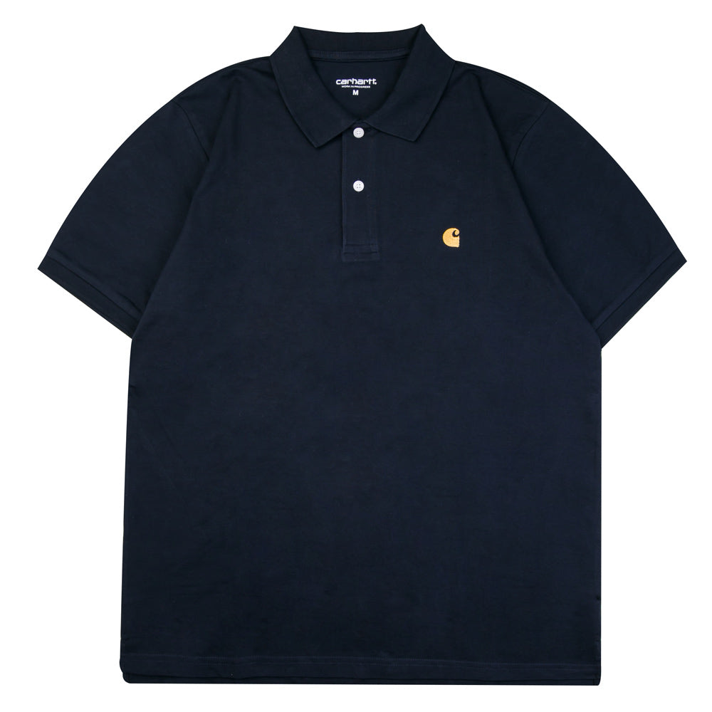 Chase Polo Tee | Dark Navy