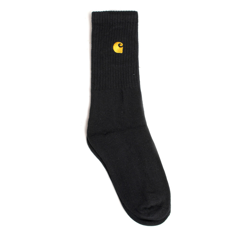 Carhartt WIP Chase Socks | Black - CROSSOVER