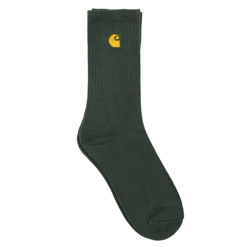 Carhartt WIP Chase Socks | Bottle Green - CROSSOVER